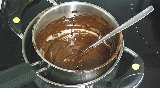 Kiwi con chocolate