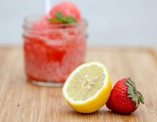 Fresas con Limón