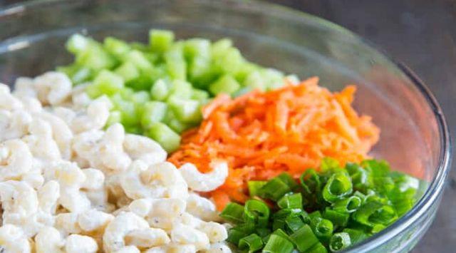 Macarrones con Verduras