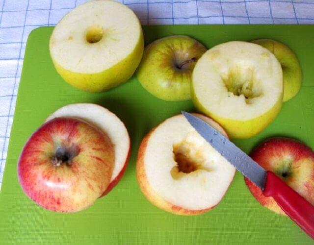 Manzanas al horno