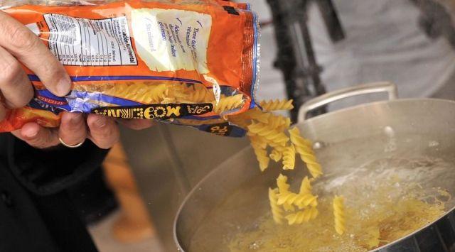 Macarrones con mantequilla