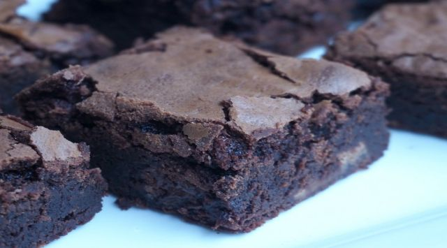 Brownie con Thermomix