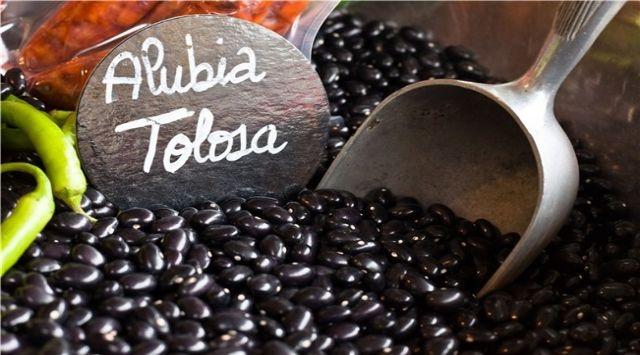 Alubias Negras con Chorizo