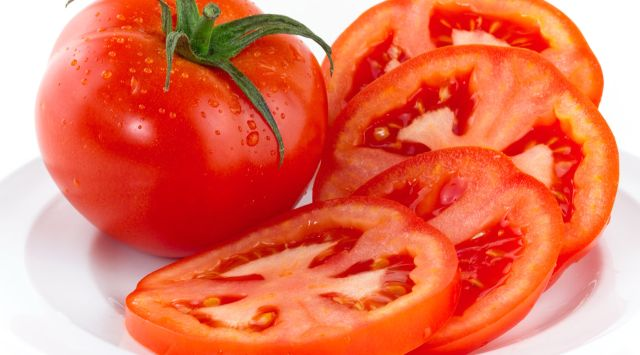 Tomates asados a la italiana