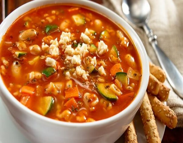 Sopa de minestrone