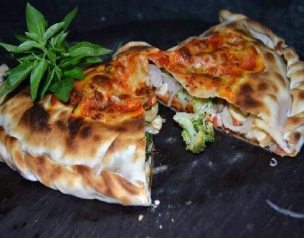 calzone vegetariana