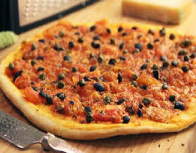 Pizza putanesca