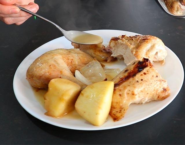 Pollo al horno fácil