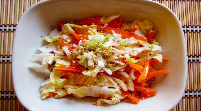Ensalada de Zanahoria y Col