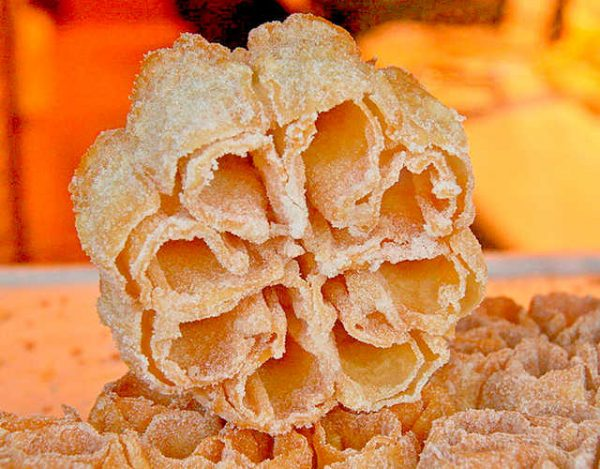 Flores fritas de semana santa