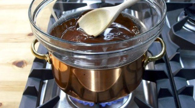 Trenza de Hojaldre con Chocolate y Nueces