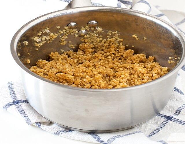 Ensalada de atún y quinoa