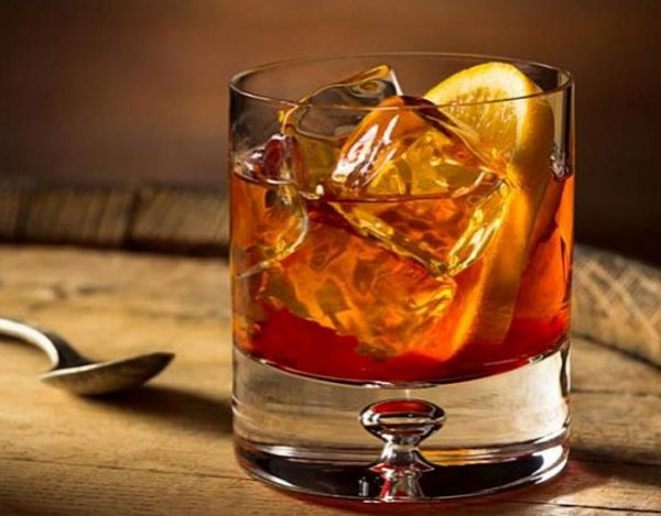 Cóctel Old Fashioned