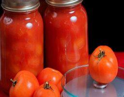 Conserva de tomate natural