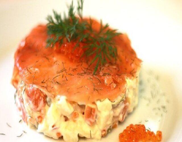 Ensaladilla de salmón
