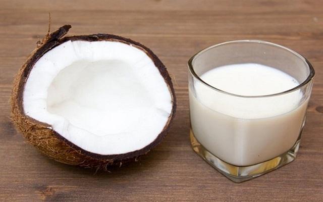Natillas de coco