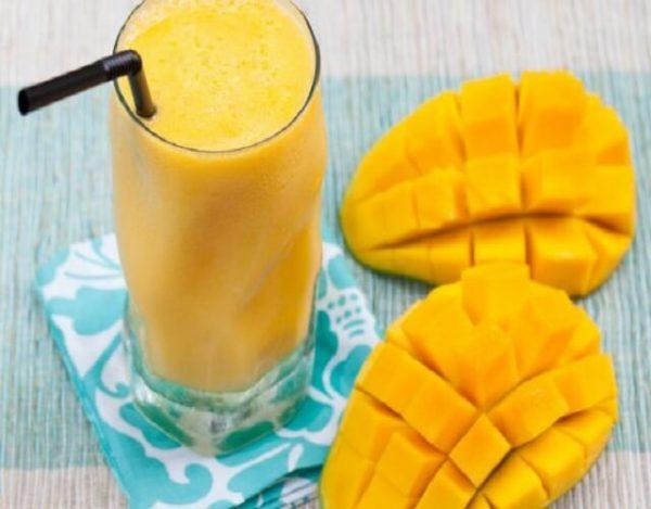 Smoothie de mango cremoso