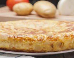 Tortilla de Patata y Pimientos