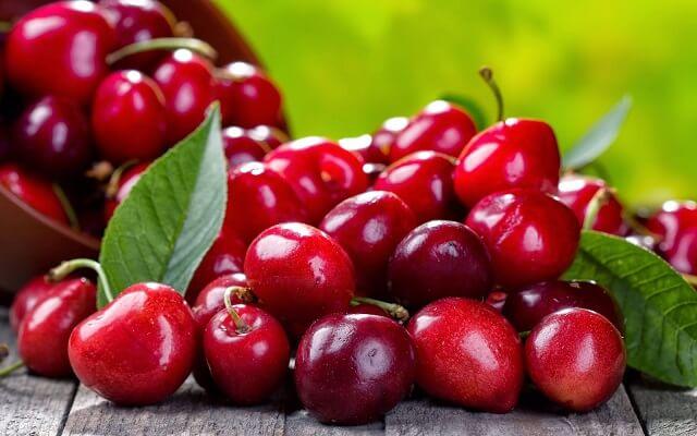 Bizcocho de cerezas