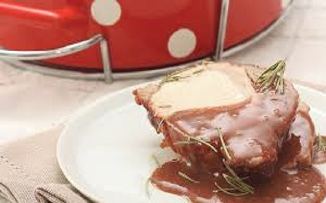 Lomo de cerdo al chocolate