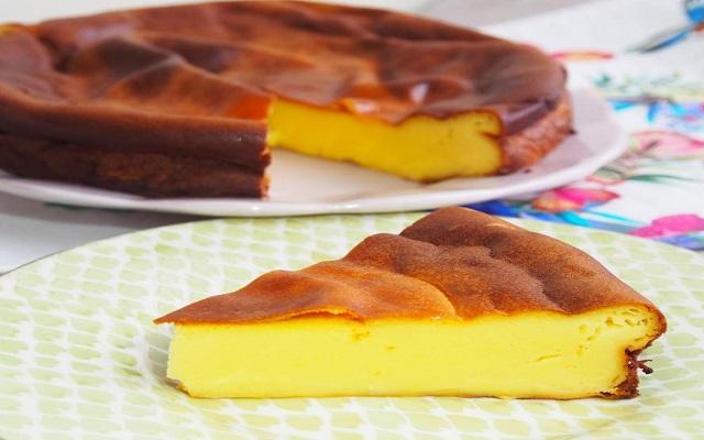 Tarta de queso salada
