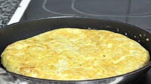 Tortilla en salsa