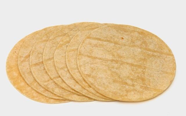 Tortillas de maíz para tacos