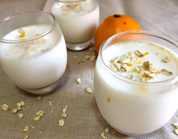 Yogur de avena
