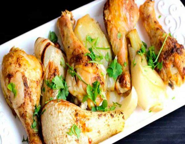 Pollo al hinojo