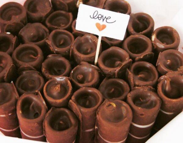 Barquillos de Chocolate Caseros