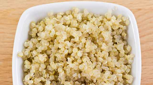 Flan de quinoa
