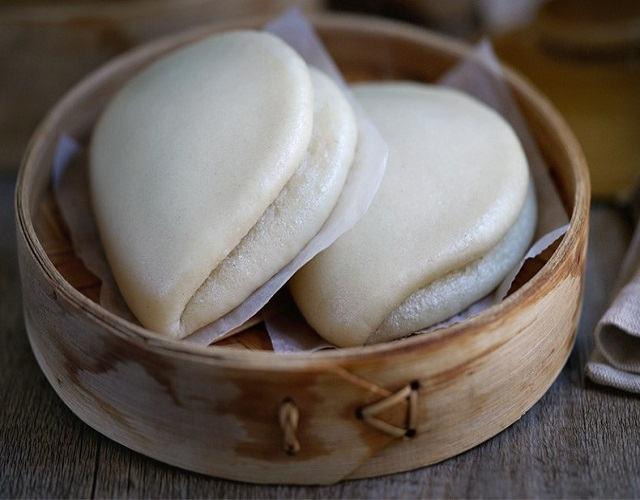 Pan bao casero o gua bao