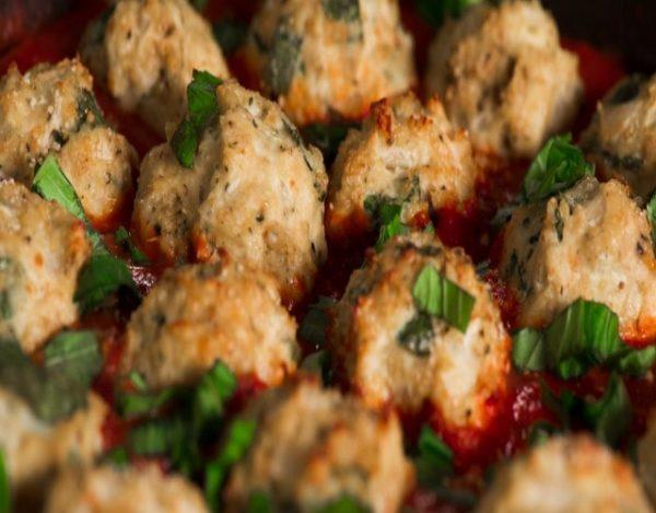 Albóndigas de Pollo y Espinacas