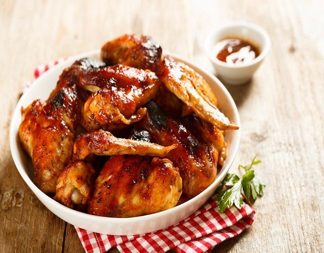 Alitas de pollo mexicanas
