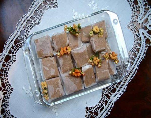 Caramelos toffee caseros