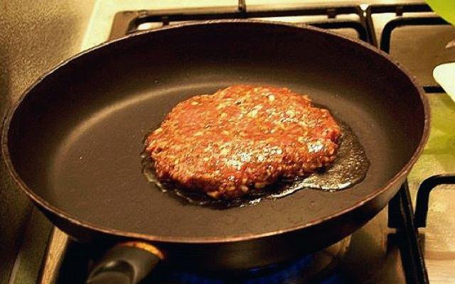 Hamburguesa en pan bao
