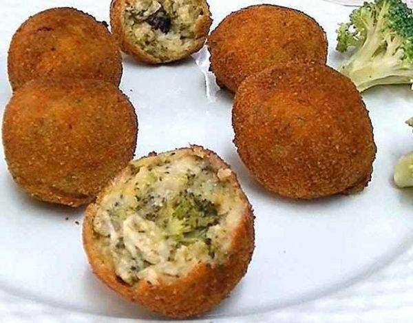 Croquetas de brócoli