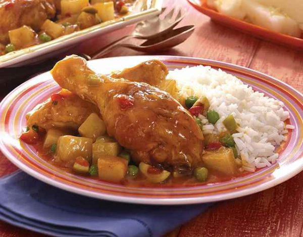 Fricasé de pollo