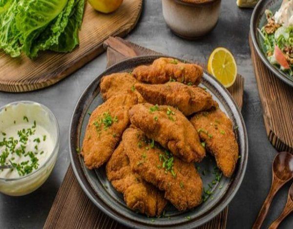 Milanesa de pollo