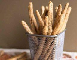 Palitos de pan integral