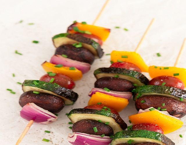 Pinchos de verduras