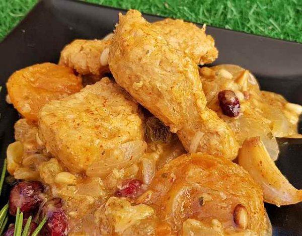 Pollo vegano casero