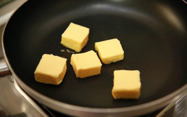 Bechamel con queso azul