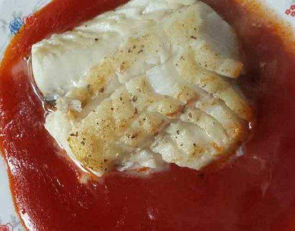 Bacalao skrei con tomate