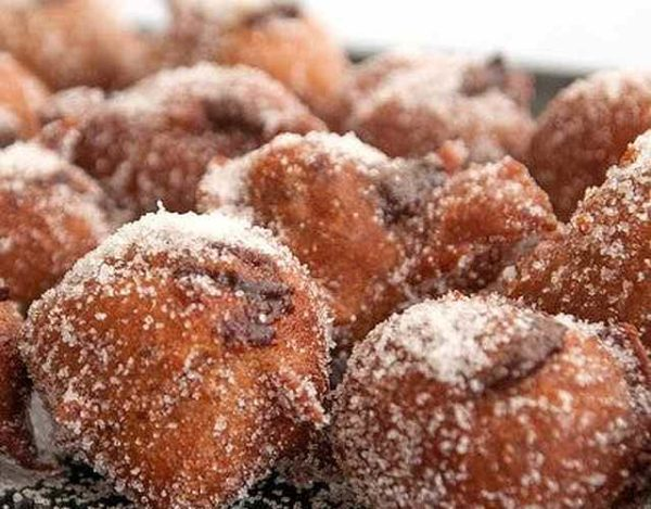 Buñuelos de chocolate