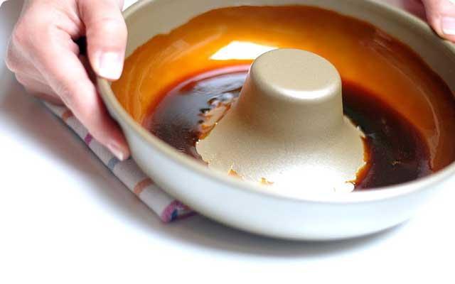 Flan de yogur