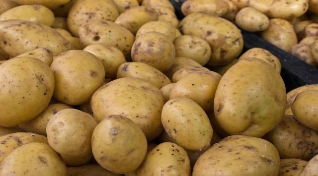 Ensalada de Patatas y Gambas