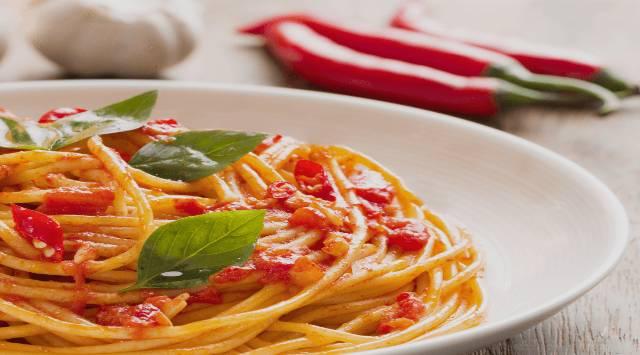 Espaguetis Arrabiata