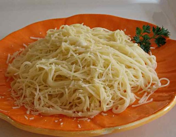Espaguetis al burro