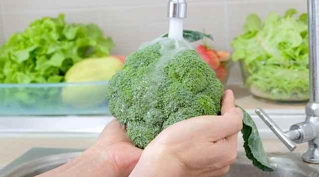 Brócoli con salsa de yogur